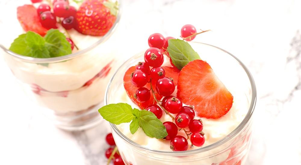 Sabayon de fruits rouges au Grain d'Amour