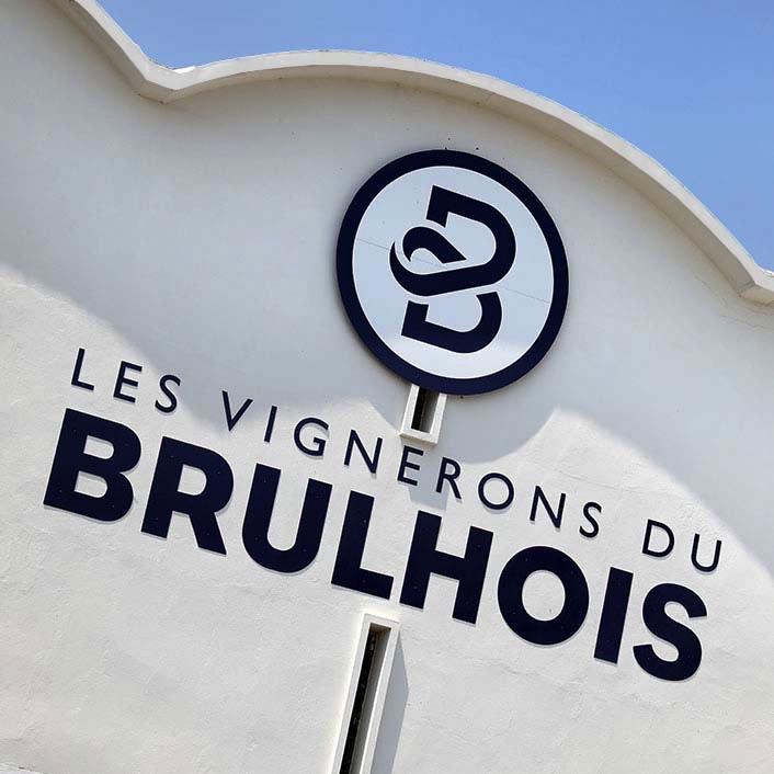 Façade la boutique Les Vignerons du Brulhois