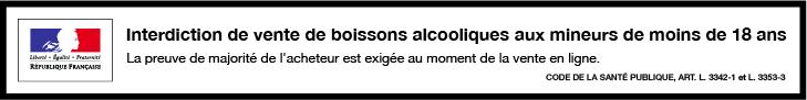 Vente d'alcool interdite aux mineurs