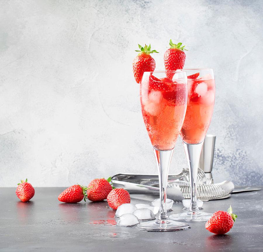 Grain d'Amour fraises & limonade