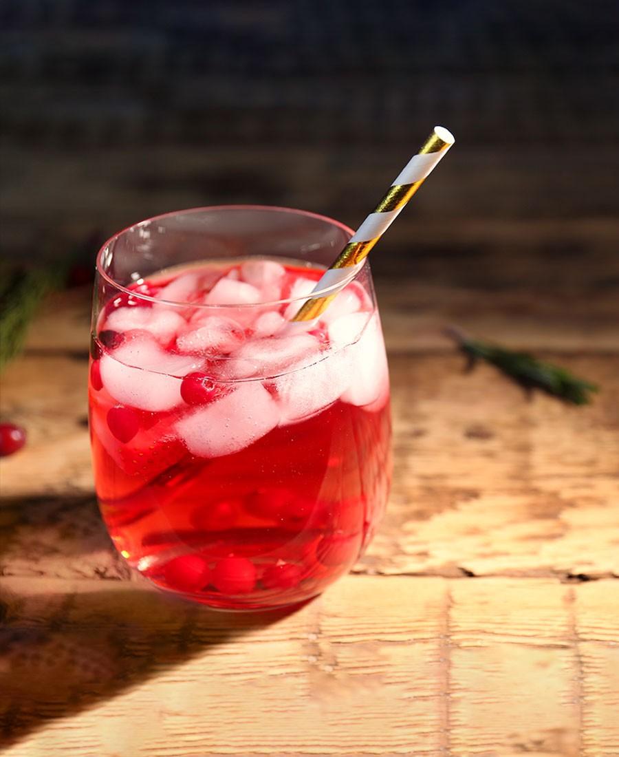 Spritzer rosé au Grain d'Amour